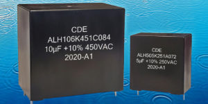 Long Life, 85/85 THB-Rated AC Filter Capacitors for Harsh Environments