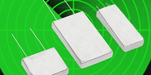Flat Aluminum Electrolytic Capacitors with Welded Seals Offer 5,000 Hour Life at 125 °C, Rugged Design